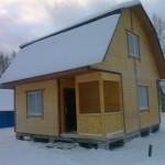 Двух-этажный дом 6 х 6 м. Стоимость от 750 тыс.руб.