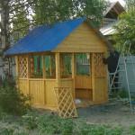 Садовая беседка 2,5 х 2,5 м. От 32 тысяч.руб.